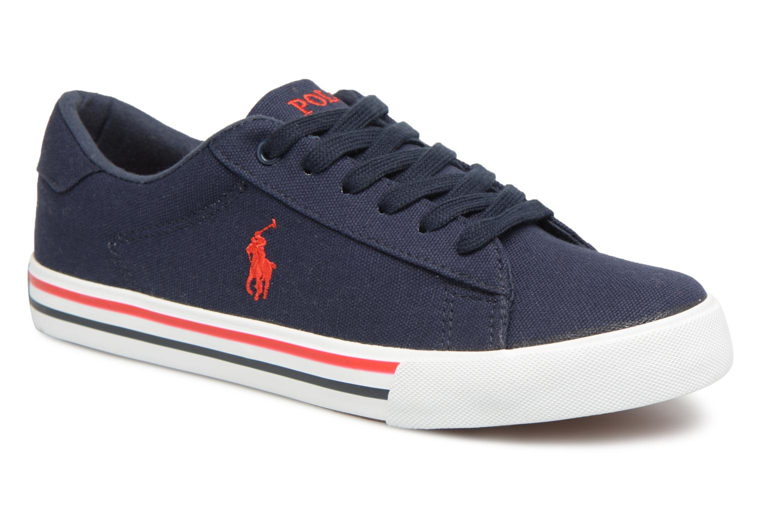 Trainers Polo Ralph Lauren Easten Blue detailed view/ Pair view