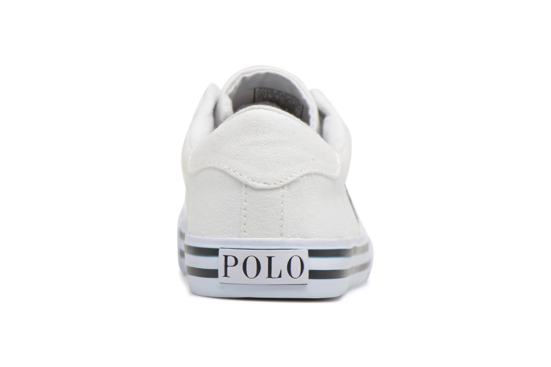 Baskets Polo Ralph Lauren Easten Blanc vue droite