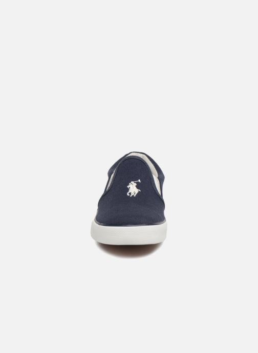 Baskets Polo Ralph Lauren Bal Harbour II Bleu vue portées chaussures