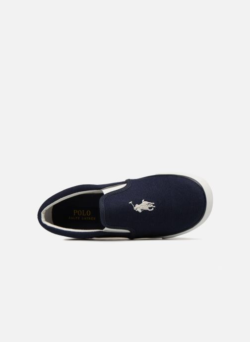 Baskets Polo Ralph Lauren Bal Harbour II Bleu vue gauche