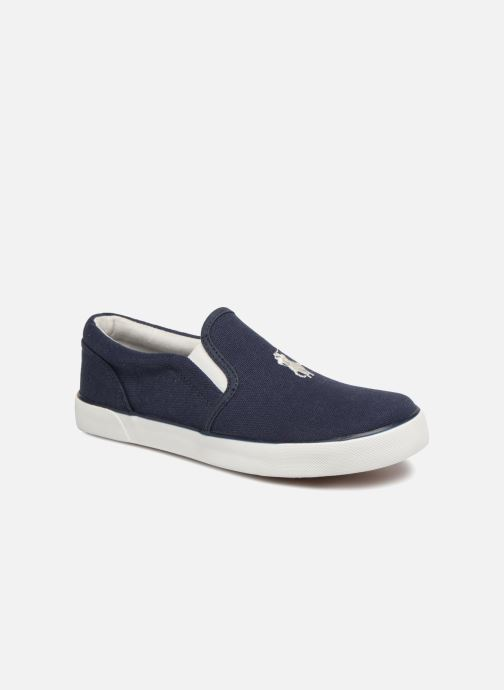 Baskets Polo Ralph Lauren Bal Harbour II Bleu vue détail/paire