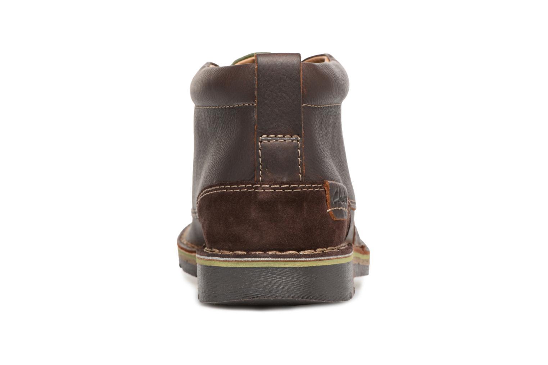 Bottines et boots Clarks Edgewick Mid Marron vue droite
