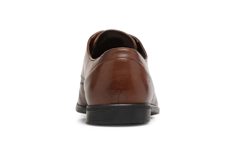 Chaussures à lacets Clarks Bampton Limit Marron vue droite