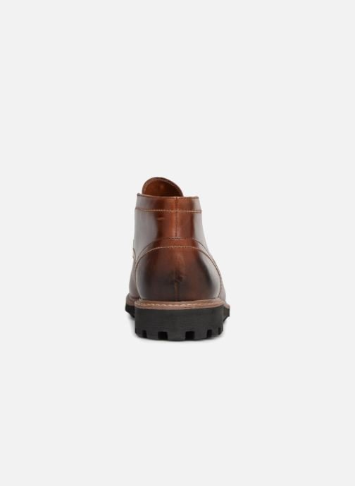 Lace-up shoes Clarks Batcombe Lo Brown view from the right
