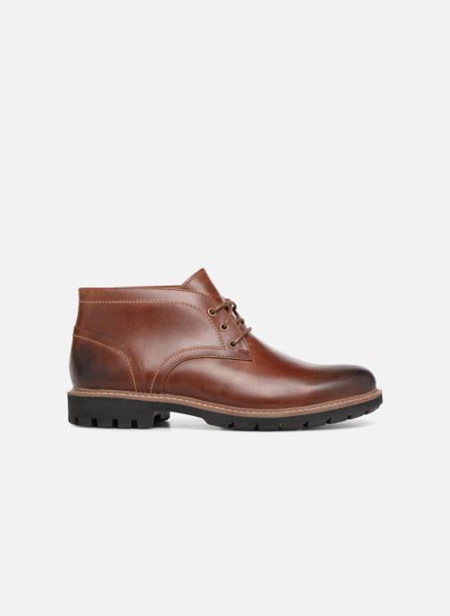 Lace-up shoes Clarks Batcombe Lo Brown back view