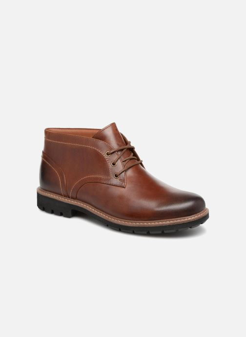 Lace-up shoes Clarks Batcombe Lo Brown detailed view/ Pair view