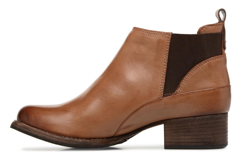 Bottines et boots Clarks Monica Pearl Marron vue face