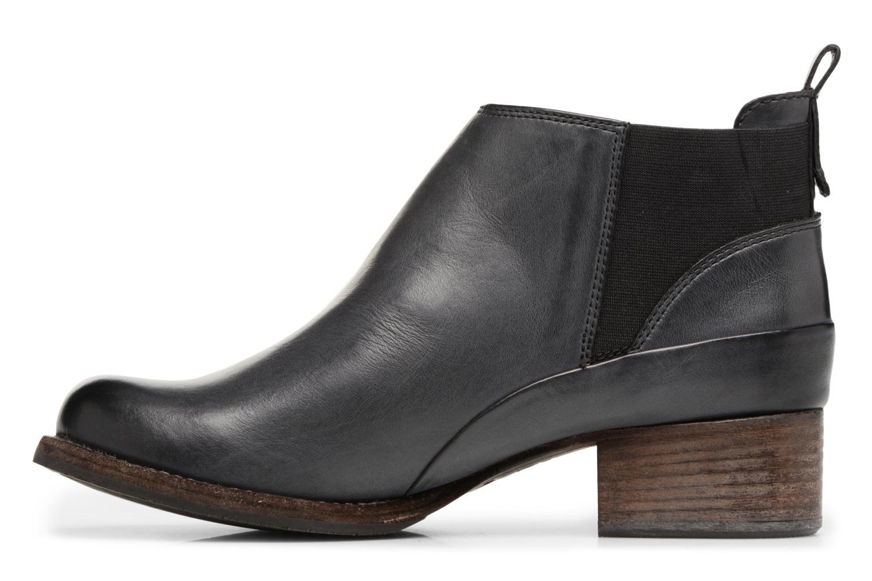 Bottines et boots Clarks Monica Pearl Gris vue face
