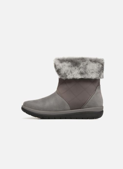 Ankle boots Clarks Cabrini Reef Grey front view