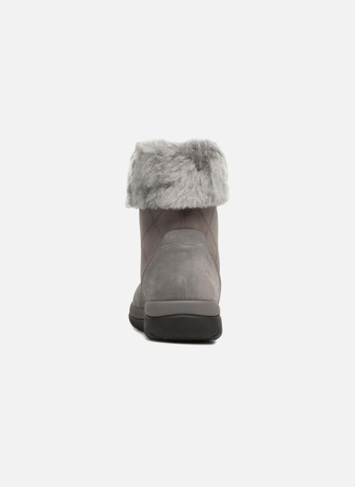 Ankle boots Clarks Cabrini Reef Grey view from the right
