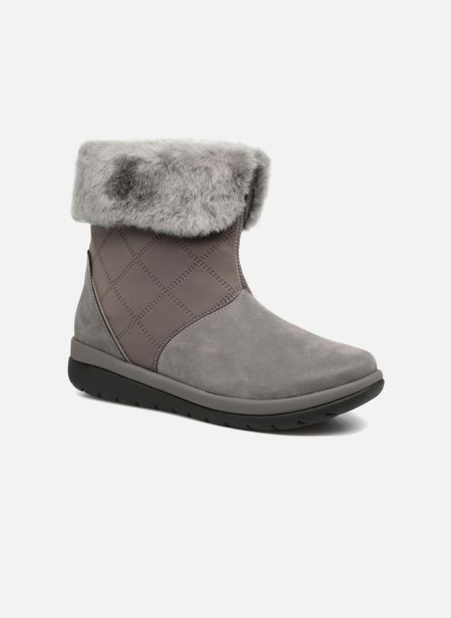Ankle boots Clarks Cabrini Reef Grey detailed view/ Pair view