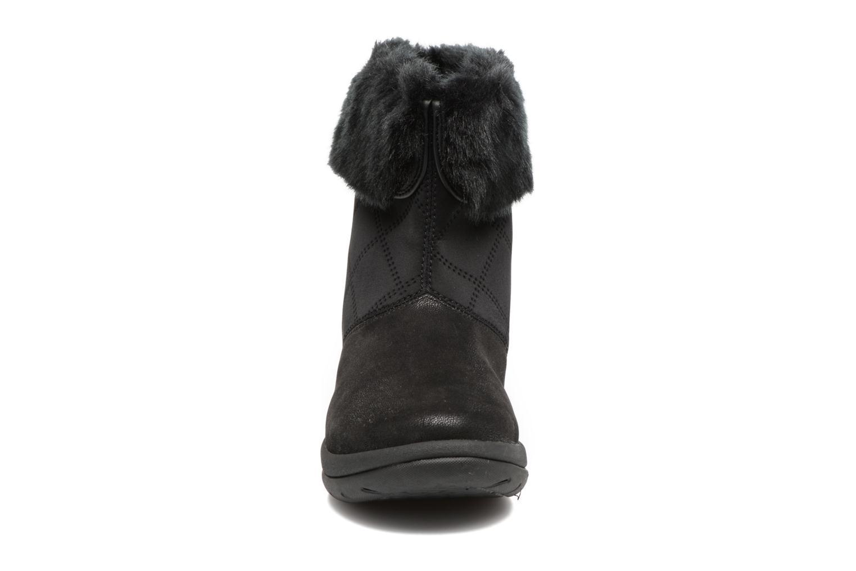 Bottes Clarks Cabrini Reef Noir vue portées chaussures