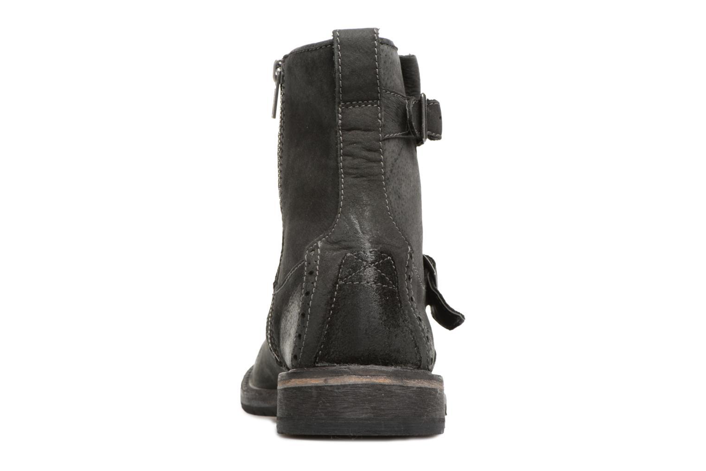 Bottines et boots Clarks Clarkdale Cash Noir vue droite