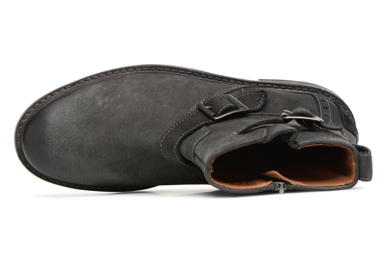 Bottines et boots Clarks Clarkdale Cash Noir vue gauche