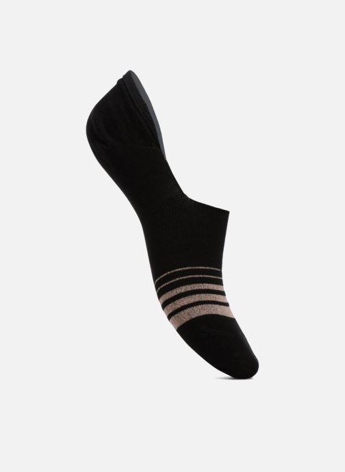 Strømper og tights BLEUFORÊT Protège Pied Rayures Lurex Sort detaljeret billede af skoene