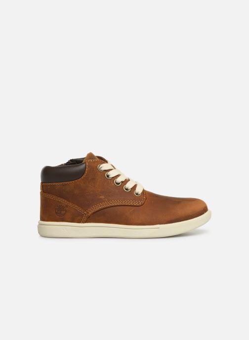 Chaussures à lacets Timberland Groveton Leather Chukka Kids Marron vue derrière