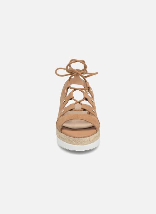 Sandales et nu-pieds Aldo AFIGOWET 21 Beige vue portées chaussures