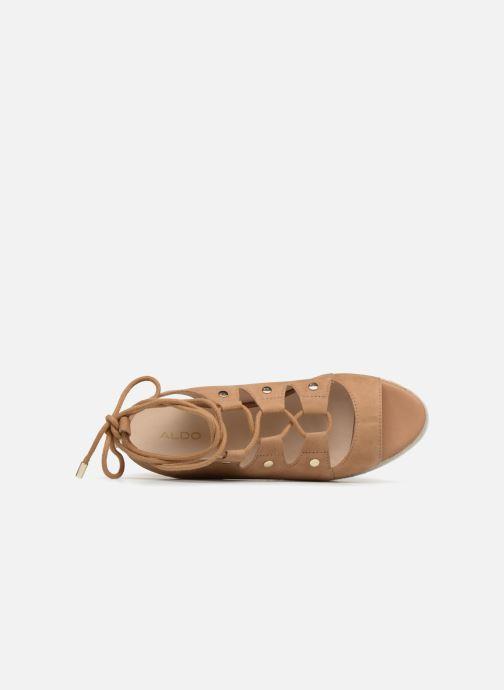 Sandales et nu-pieds Aldo AFIGOWET 21 Beige vue gauche