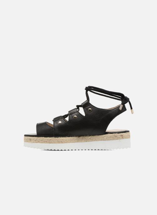 Sandales et nu-pieds Aldo AFIGOWET 97 Noir vue face