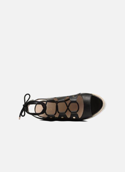 Sandales et nu-pieds Aldo AFIGOWET 97 Noir vue gauche