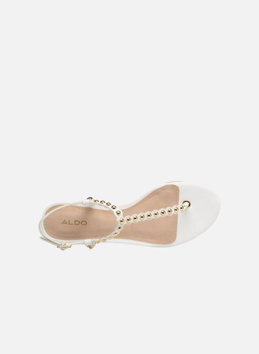 Sandales et nu-pieds Aldo BALATA 70 Blanc vue gauche