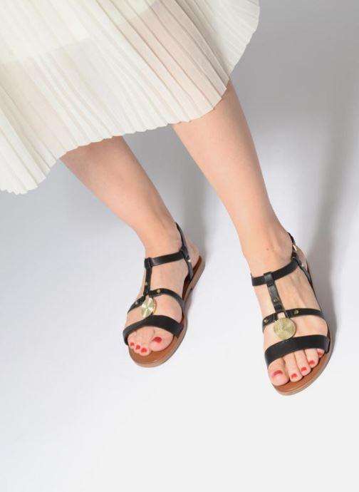 Sandales et nu-pieds Aldo CHICKASAW 96 Noir vue bas / vue portée sac