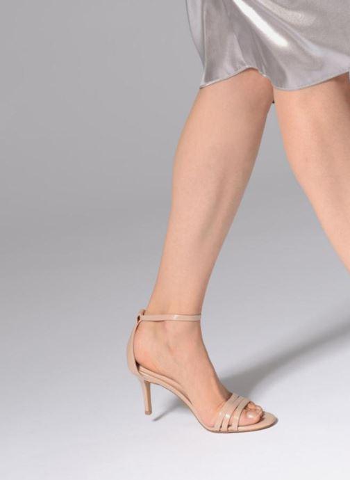 Sandales et nu-pieds Aldo GWUNG 32 Beige vue bas / vue portée sac
