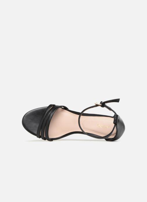 Sandales et nu-pieds Aldo GWUNG 95 Noir vue gauche