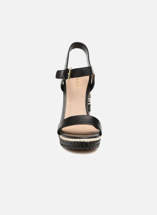 Sandales et nu-pieds Aldo HUGLAG 97 Noir vue portées chaussures