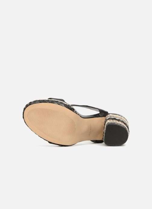 Sandales et nu-pieds Aldo HUGLAG 97 Noir vue haut