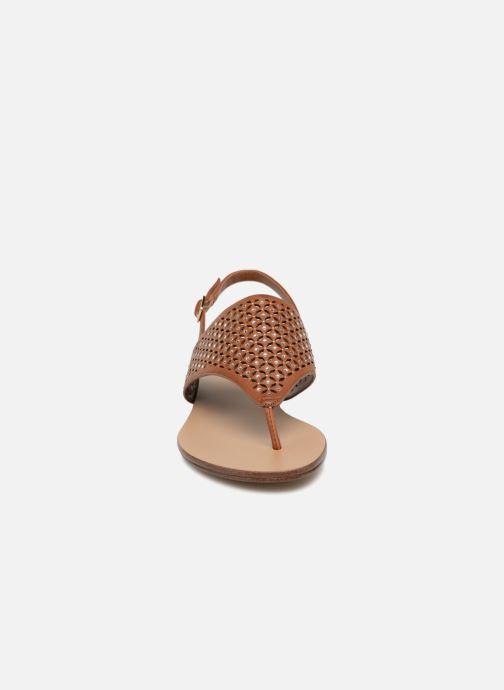 Sandali e scarpe aperte Aldo UNULLA 28 Marrone modello indossato