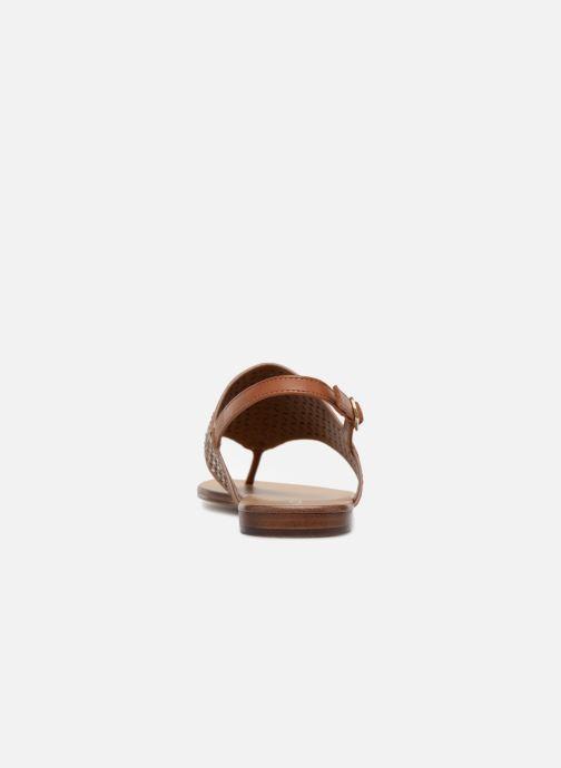 Aldo UNULLA 28 (Marron) - Sandales et nu-pieds chez  (323953)