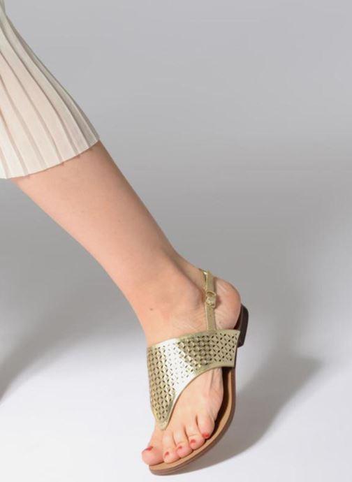 Sandales et nu-pieds Aldo UNULLA 82 Or et bronze vue bas / vue portée sac