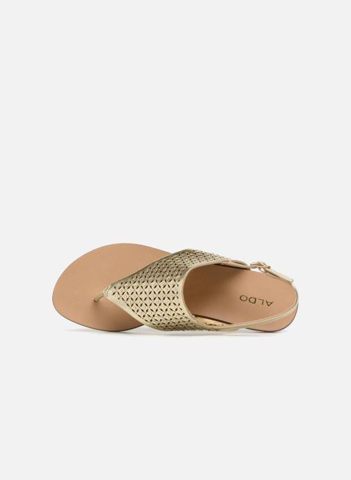 Sandales et nu-pieds Aldo UNULLA 82 Or et bronze vue gauche