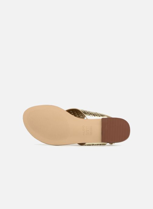 Sandales et nu-pieds Aldo UNULLA 82 Or et bronze vue haut