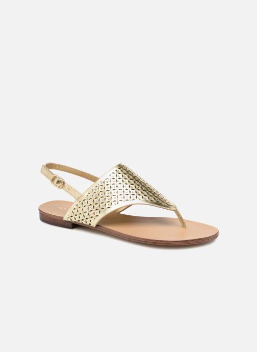 Sandales et nu-pieds Aldo UNULLA 82 Or et bronze vue détail/paire