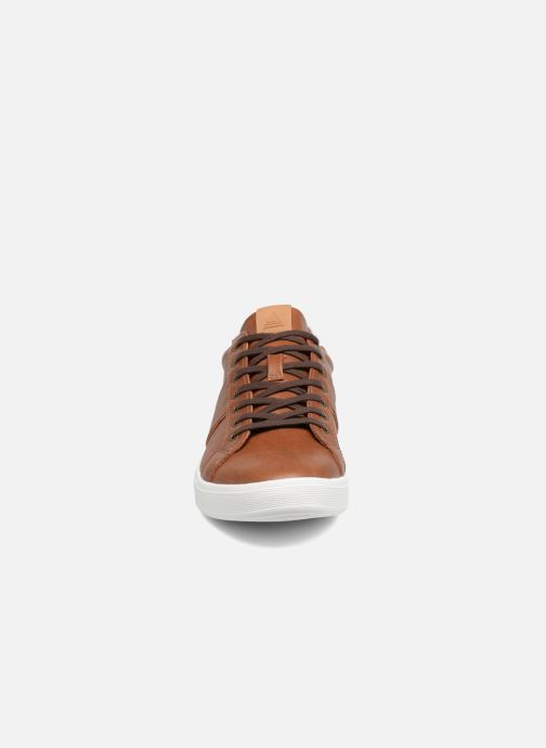 Baskets Aldo LOVERICIA 28 Marron vue portées chaussures