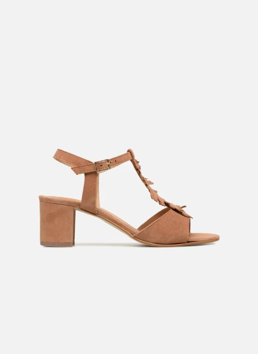 Sandales et nu-pieds Georgia Rose Lafoglia Marron vue derrière