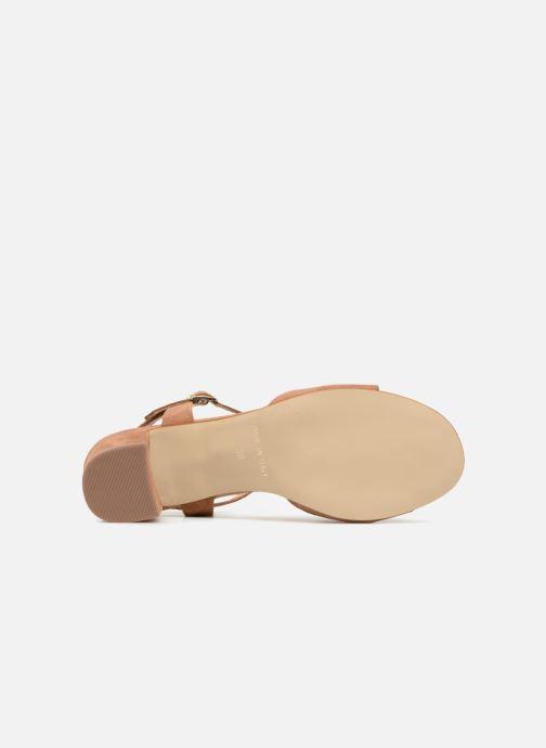 Sandales et nu-pieds Georgia Rose Lafoglia Marron vue haut