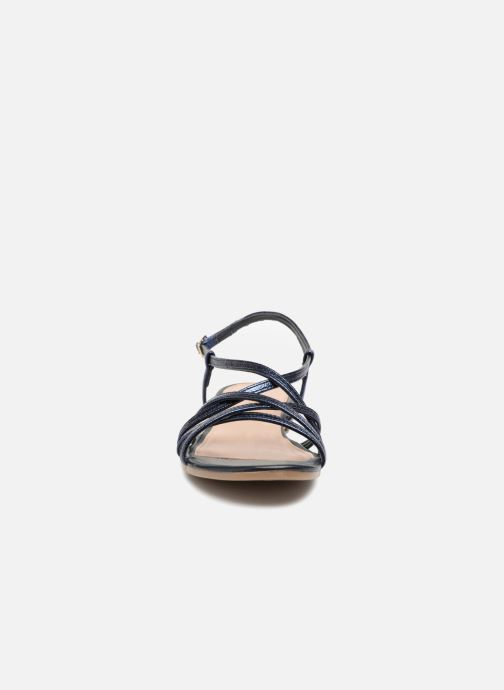 Sandales et nu-pieds Georgia Rose Luzaira Bleu vue portées chaussures