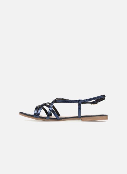 Sandales et nu-pieds Georgia Rose Luzaira Bleu vue face