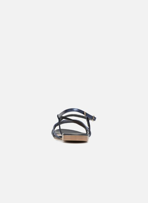 Sandales et nu-pieds Georgia Rose Luzaira Bleu vue droite