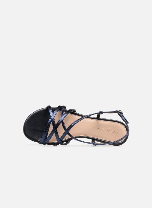 Sandales et nu-pieds Georgia Rose Luzaira Bleu vue gauche