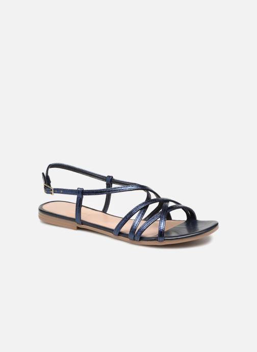 Sandales et nu-pieds Georgia Rose Luzaira Bleu vue détail/paire