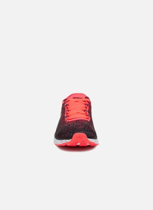 Chaussures de sport Under Armour UA Charged Bandit 3 Ombre Rouge vue portées chaussures