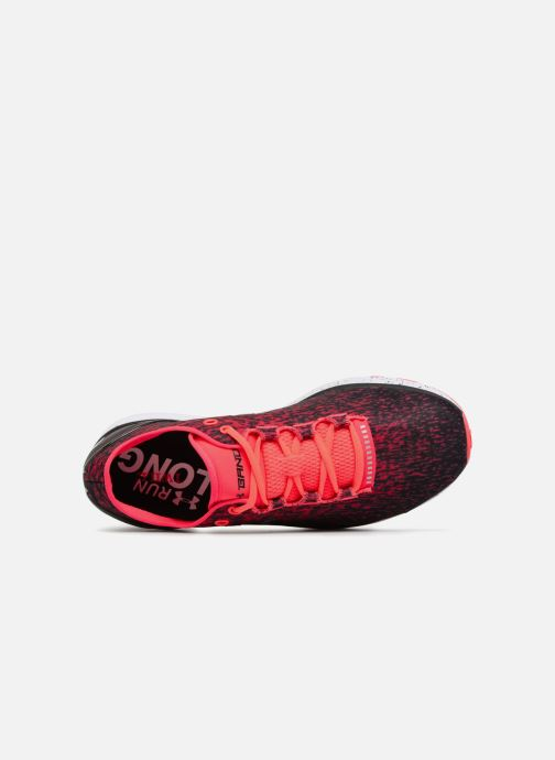 Sport shoes Under Armour UA Charged Bandit 3 Ombre Red view from the left