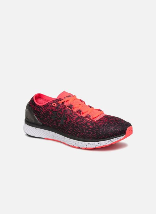 Sport shoes Under Armour UA Charged Bandit 3 Ombre Red detailed view/ Pair view