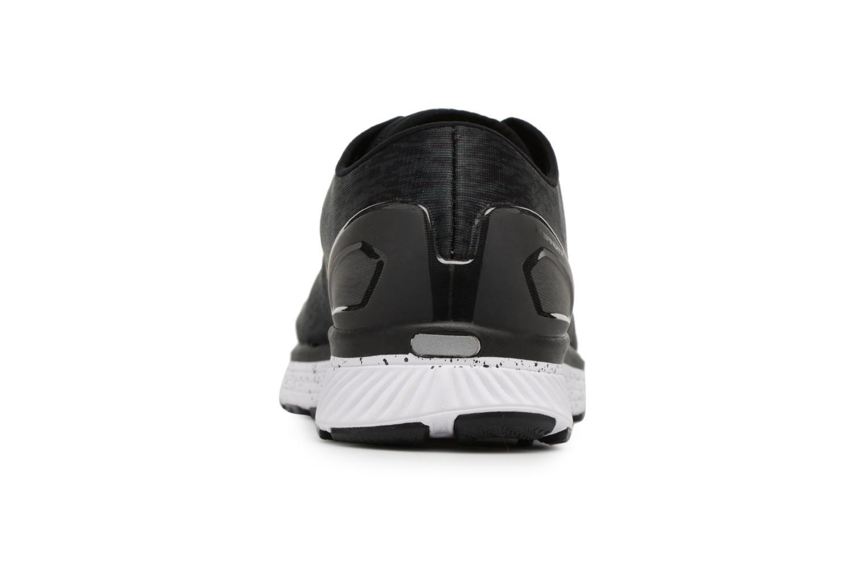 Chaussures de sport Under Armour UA Charged Bandit 3 Ombre Noir vue droite