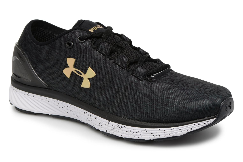 Chaussures de sport Under Armour UA Charged Bandit 3 Ombre Noir vue détail/paire