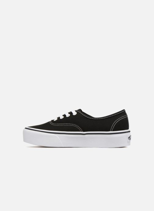 Deportivas Vans Authentic Platform 2.0 Negro vista de frente